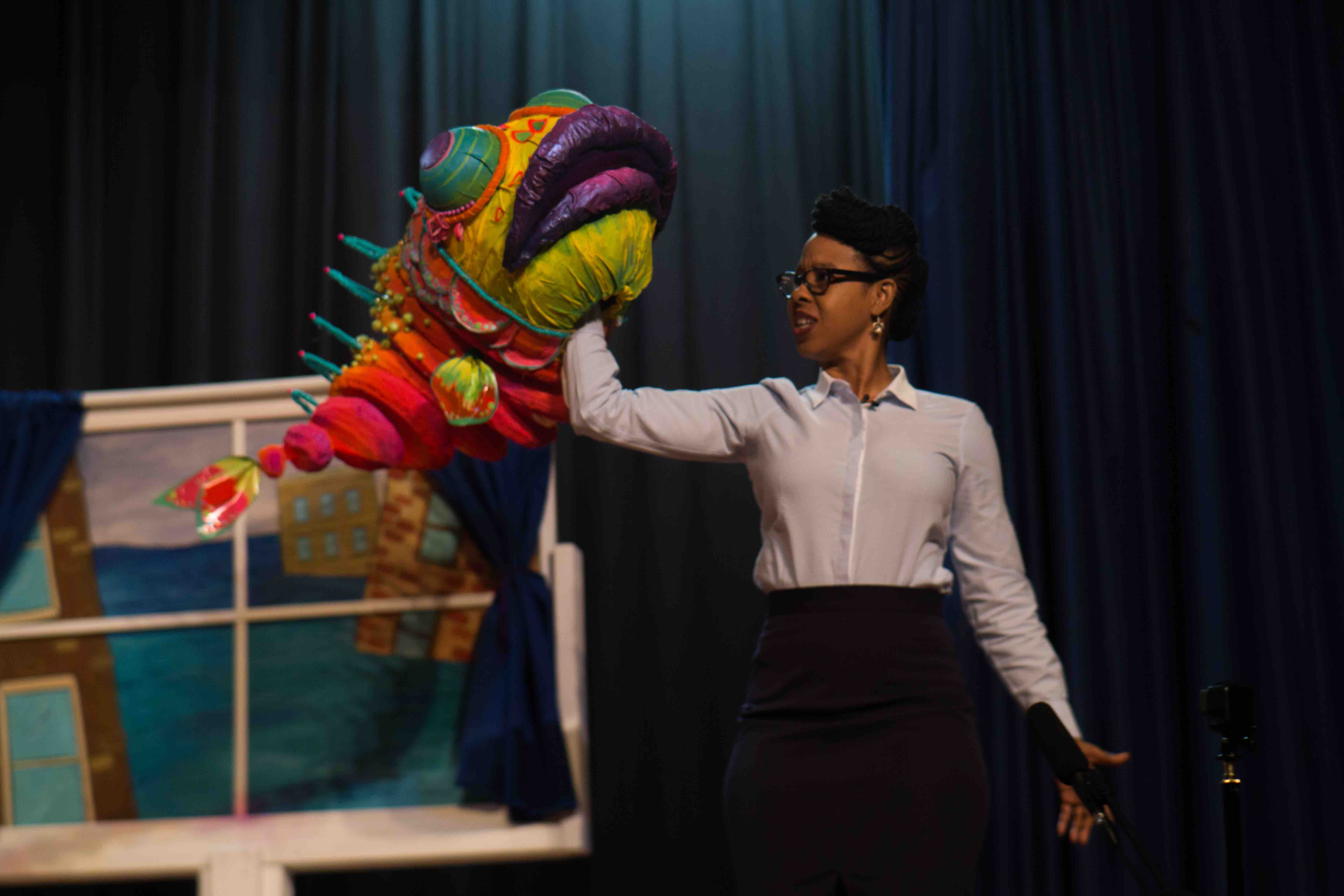 Harold of the Good Ideas, Props by Lexy Ho-Tai, Neighbors, Superhero Clubhouse performance at PS 29