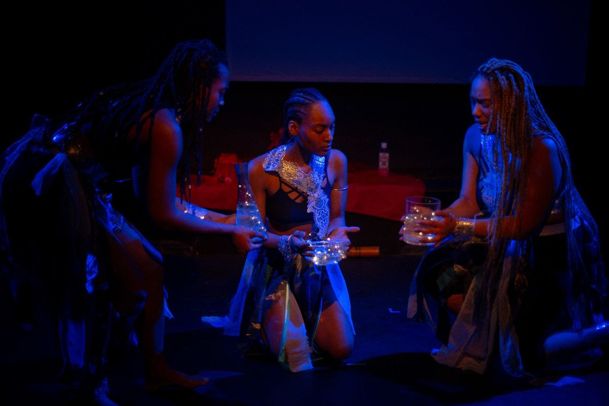Fellowship Performance, Drexicya, Water as a force of healing and oppression for black, brown, indigenous bodies